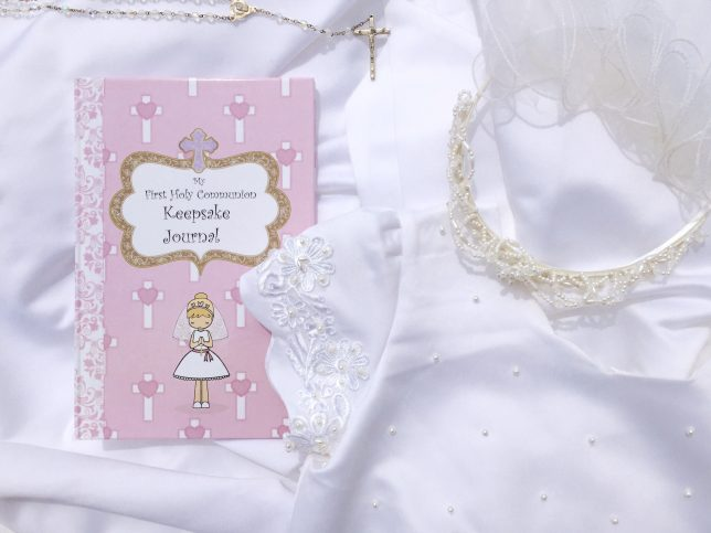 First Holy Communion Keepsake Journal | A review