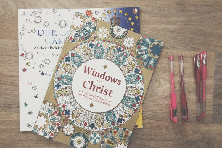 Catholic adult coloring books